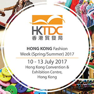 HONG KONG FASHION WEEK FOR SPRING/SUMMER 2017